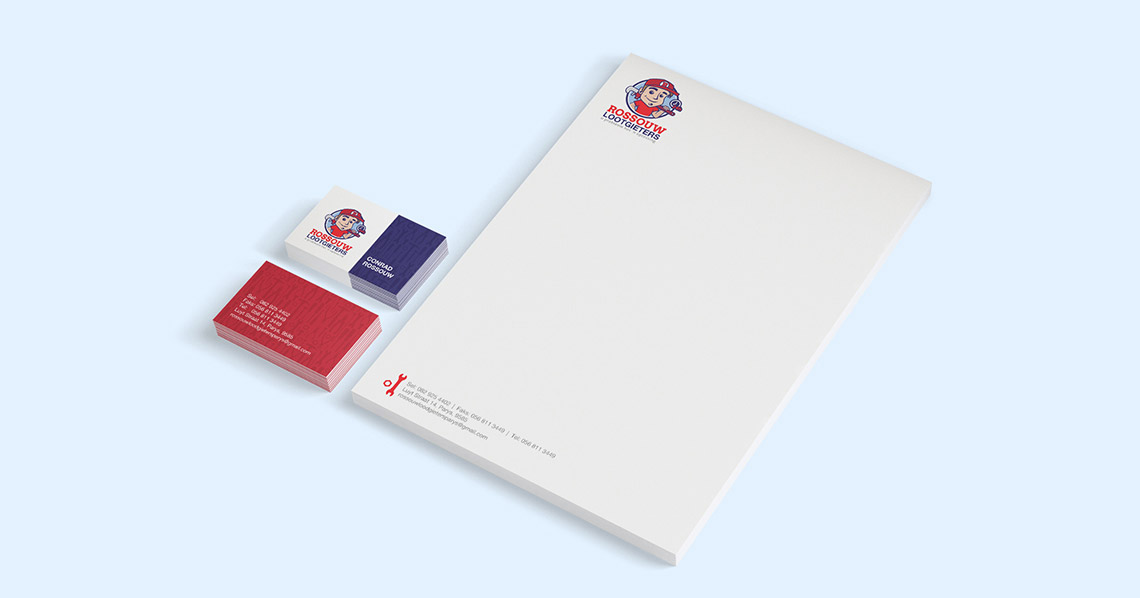 Corporate Identity - Rossouw Loodgieters