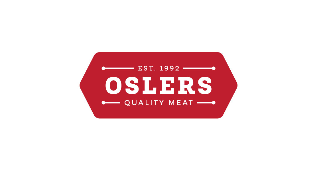 Logo and Packaging Design - Oslers Quality Meat
